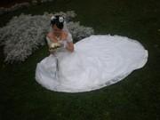 Продается свадебное платье со шлейфом, цвет
