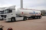 Новые полуприцепы бензовозы и нефтевозы,  п-во Турция.