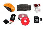 Оптом карты памяти,  флеш-накопители,  различная периферия,  диски