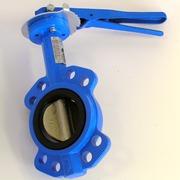 Затворы поворотные дисковые межфланцевые ручные «бабочка»