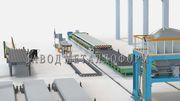 Производственная линия пустотных плит ПК
